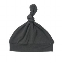 Angel Dear Solid Black Knotted Hat
