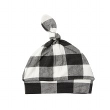 Angel Dear Buffalo Check Knotted Hat