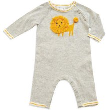 Angel Dear Lion Knit Coverall 0-3m