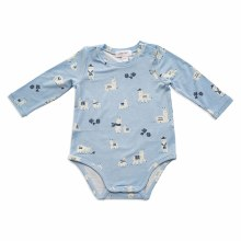 Angel Dear Llama Bodysuit Blue