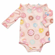 Angel Dear Long Sleeve Donuts Bodysuit
