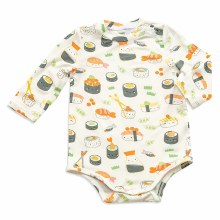 Angel Dear Long Sleeve Sushi Bodysuit