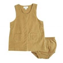 Angel Dear Honey Corduroy Mod Dress and Diaper Cover