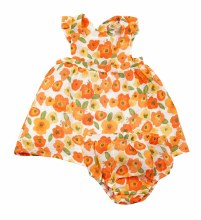 Angel Dear Pinafore Poppies 12-18