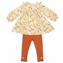 Angel Dear Daisy Baby Ruffle Dress & Leggings