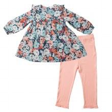 Angel Dear Garden Club Ruffle Dress & Leggings