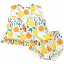 Angel Dear Ruffle Top/Bloomer Tropical Fruit 3-6