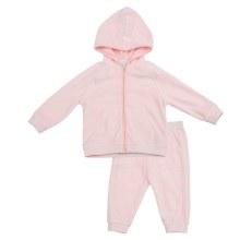Angel Dear Velour Jogging Suit Pink