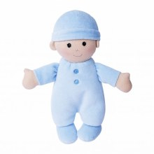 Apple Park Organic First Baby Doll Blue