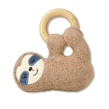 Apple Park Organic Cotton Sloth Teether