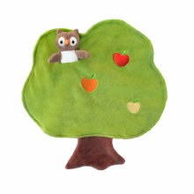 Apple Park Owl Tree Pull Toy