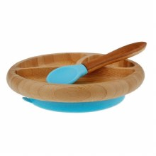 Avanchy Plate/Spoon Blue