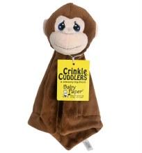 Baby Paper Monkey Crinkle Cuddle