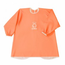 BabyBjorn Long Sleeve Bib Orange