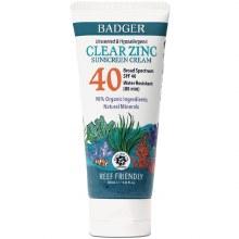 Badger Clear Zinc