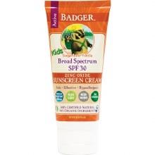 Badger Kids Sunscreen Cream