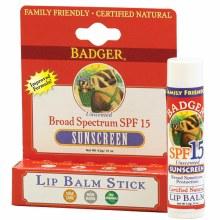 Badger Clear Zinc Lip Sunscreen