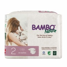 Bamboo Nature Diaper Baby 2