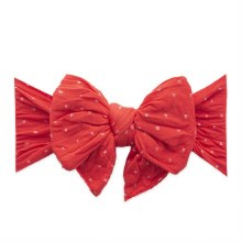 Baby Bling Dang Enormous Bow Cherry Dot