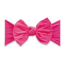 Baby Bling Classic Knot Headband Neon Pink
