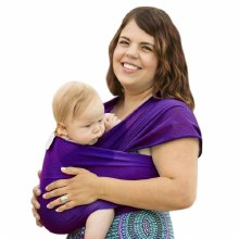 Beachfront Baby Water Wrap- Paradise Plum