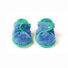 Baby Deedee Booties Dino Blue