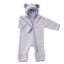 Baby Deedee Fleece Bear Bunting Lavender
