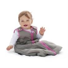 Baby Deedee Sleep Nest Slate Hot Pink