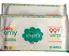 Bets & Emy Wipes 10 ct.