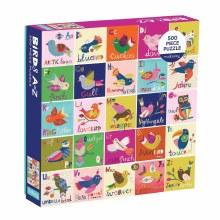 Birds A-Z 500 Piece Puzzle