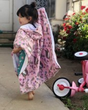 Birdy Boutique Car Seat Poncho Cupcake