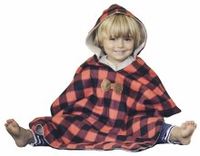 Birdy Boutique Car Seat Poncho Lumberjack Plaid
