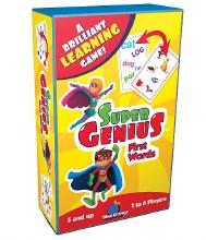 Blue Orange Games Super Genius First Words