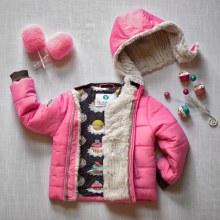Buckle Me Baby Coat Toastiest in Hello Cupcake