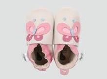 Bobux - Butterfly Milk Pink - L
