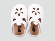 Bobux - White Sandal Large