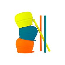 Boon Snug Straw Orange