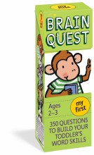 Brain Quest- Cards My First Ages 2-3Y