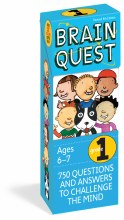 Brain Quest Cards Grade 1