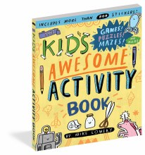 Brain Quest Kid's Awesome Activity Book