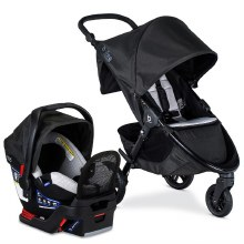 Britax B-Free&Endevours Clean Comfort Travel System