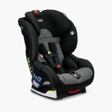 Britax Boulevard ClickTight Convertible Car Seat- Stay Clean Stainless with Anti Rebound Bar