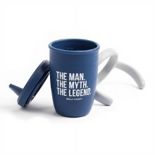 Bella Tunno Happy Sippy Cups The Man, The Mytrh, The Legend