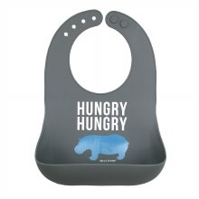 Bella Tunno Wonder Bib - Hungry Hungry Hippo