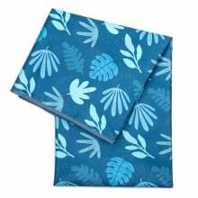 Bumkins Splat Mat Blue Tropic