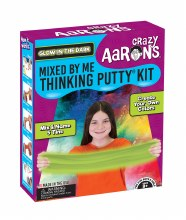 Crazy Aaron's Mixed By Me Glow In The Dark Thinking Putty Kit