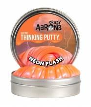 Crazy Aaron's Thinking Putty Mega Neon Flash