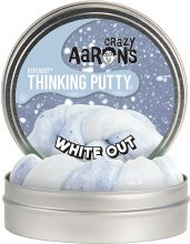 Crazy Aarons Thinking Putty White Out