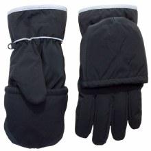 Calikids 2-in-1 Waterproof Glove/Mitten Black