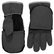 Calikids 2-in-1 Waterproof Glove/Mitten Charcoal